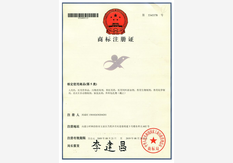 2009年商标注册成功